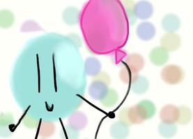 Bubble Balloon by Leafyloveer