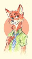 Fox by IamSKETCHcat