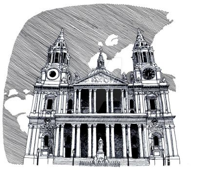 St Paul's Cathedral by BlueShadowM