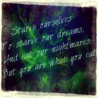 Poetry Design: Starvation by LMW-The-Poet
