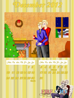 Calender December DenNor by Blaane