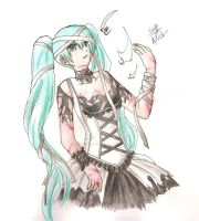 Crossed Destinies - H. Miku by Ailish-Lollipop