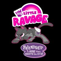 My Little Ravage by ninjaink
