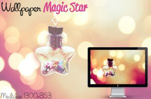 Wallpaper Magic Star by jessy-izan