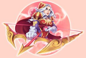 League - Heartseeker Ashe by b-oots
