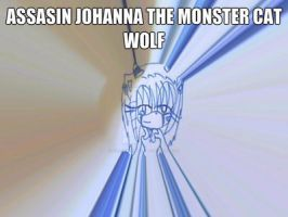assasin johanna the monster cat wolf by me by zoe123hedgefox
