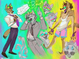 Bwolf Sketches by FablePaint