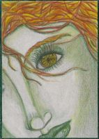 Yellow (ACEO) by Keyshe54