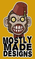 Mostly Made Monkey by mostlymade