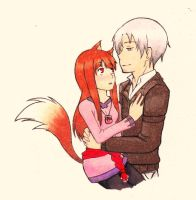 Spice and Wolf Gift by ZAKtheGREAT