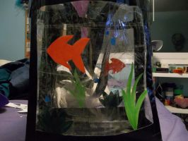 Fish Tank Bag by geans123