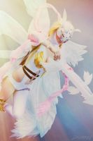 Angewomon From Digimon by po3mlov3