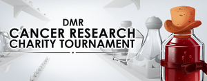 DMR Cancer Research Charity Tournament Card by MarikBentusi
