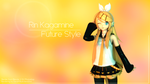 Rin Kagamine Future Style by DanzM1kuExtend2nd