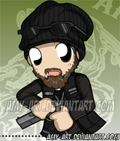 Opie - Sons of Anarchy by amy-art