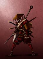 Gu Ronin Commission by rave8259