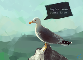 Skeptical Seagull is skeptical by vielmond