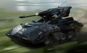 Scorpion Tank by Phade01