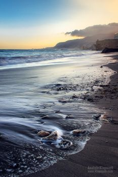 Sunrise at Trapani by klapouch