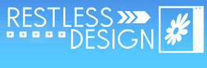 Restless Design logo by Keoni-chan