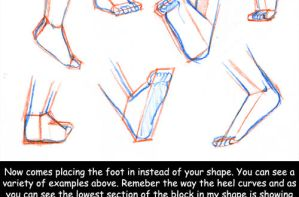 Tutorial: Feet and Shoes by kitten-chan