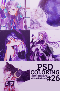 [PSD] PSD coloring #26 by JennyBabyKawaii