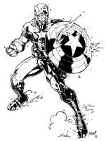 Captain America by luisalonso