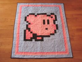 Kirby Quilt by quiltoni