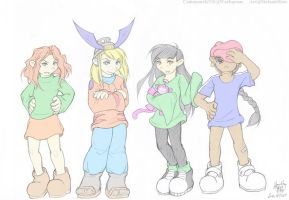 KND:  KND gals by Kriska