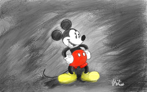 Experimenting with Mickey by Flixg