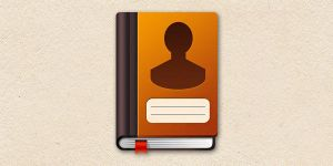 Address Book Icon (PSD) by softarea