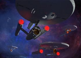 USS Federation Exploration Group by Drell-7