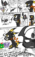 PMD comic - DANCE SKILLS by Lunate