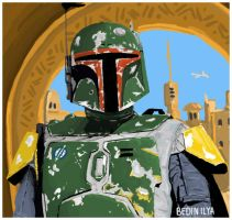 Star Wars Boba Fett by FoxbatMit