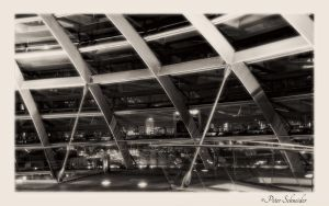 Reichstag cupola,detail 2 by Phototubby