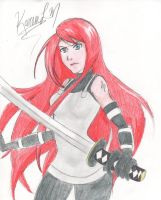 Kushina ANBU by darknessplay
