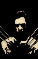 Hugh Jackman- Wolverine by WillRepent
