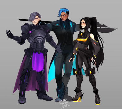Protagonists by hypherrr