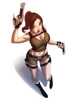 Miss Croft by UsmanHayat
