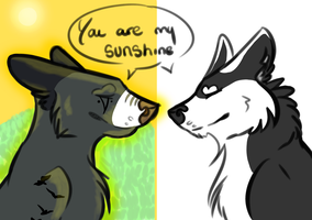 You are my sunshine by FireHeart345