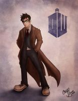 The 10th Doctor by Chansey123