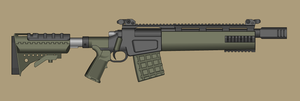 Tactical Bolt Action Shotgun by PatTheGunartist