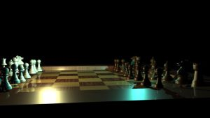 3D Work-Chessboard by Urvy1A