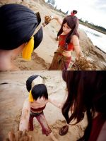 ATLA - Mudfight! by Sorel-Amy