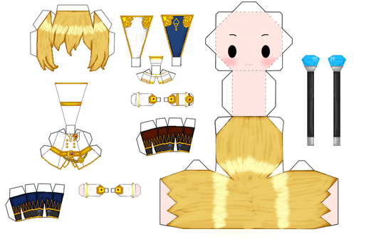 Maplestory Phantom Papercraft by Elizabethsailor7