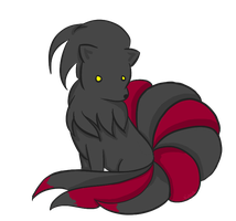 Shadow Ninetails by KIBAFAN321