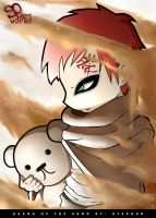 Gaara of the Sand by spartworks