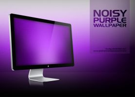 Noisy Purple Wallpaper by rhuday