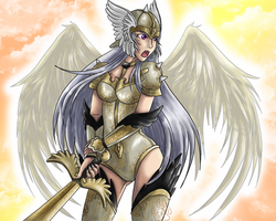 Valkyrie Commission complete by EmeraldSora