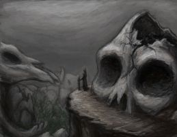 Valley of the Skulls by Jewl-chan